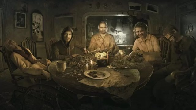 resident evil 7 hot vr games 2017