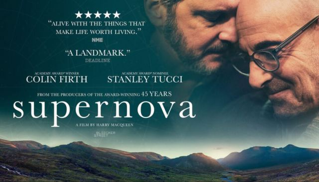 SUPERNOVA – 2021 – Starring Colin Firth and Stanley Tucci