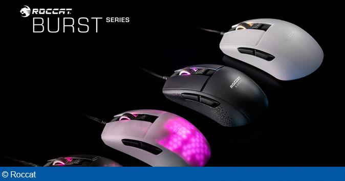 ROCCAT afslører i dag den helt nye Burst Pro PC Gaming Mus med Titan Optical Switch!
