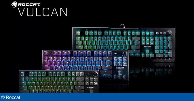 ROCCAT afslører i dag det helt nye Titan Optical Switch keyboard, samt tre nye overraskelser til den prisvindende Vulcan keyboard-serie.