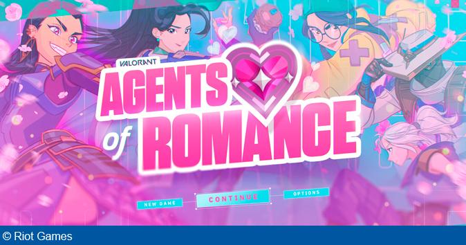 Riot Games annoncerer en ny VALORANT dating sim