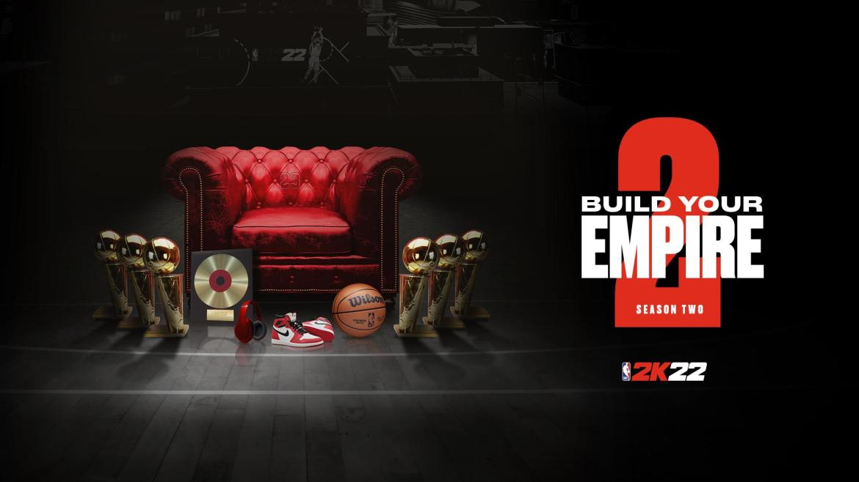 NBA® 2K22 Season 2: 'Build Your Empire' Kicks Off October 22