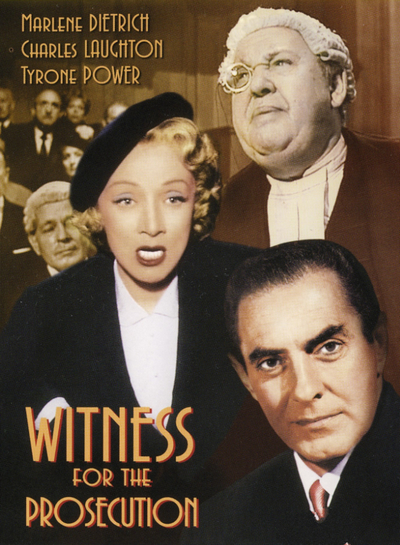 Image result for witness for the prosecution 1957