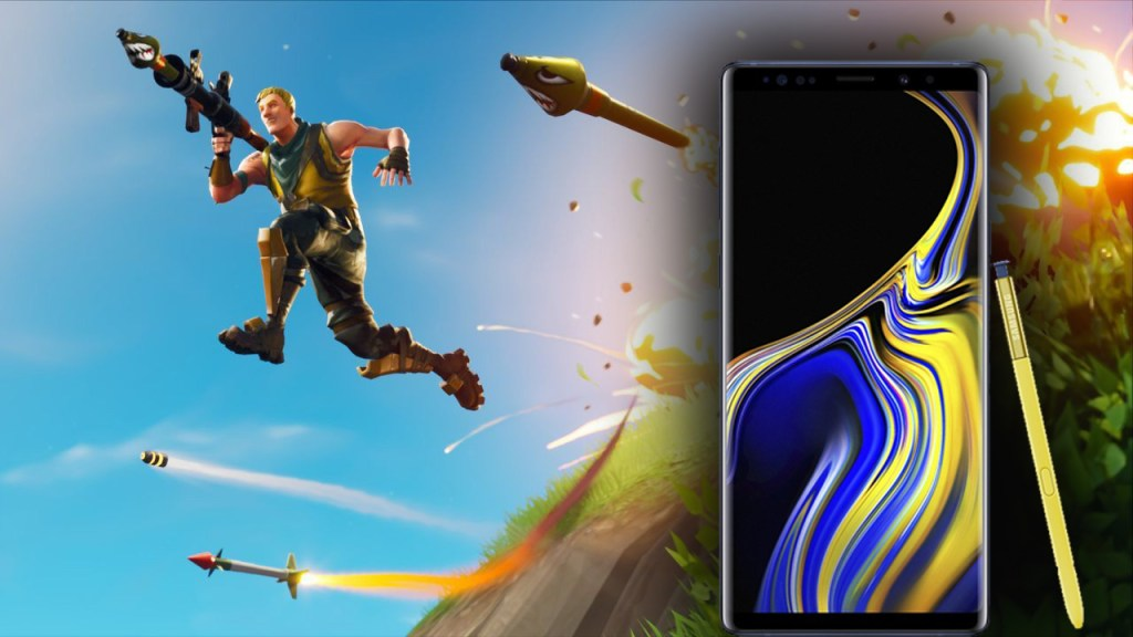 Fortnite Android Note 9