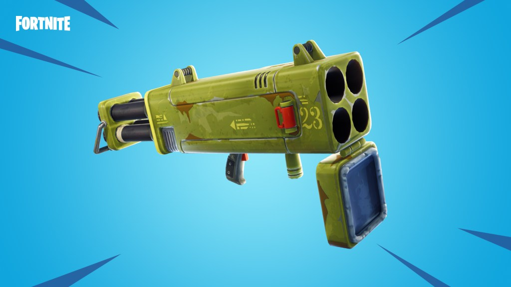 Lanza Cohetes Múltiple Fortnite
