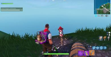 Lanza Fuegos artificiales en Fortnite Semana 4 Temporada 7