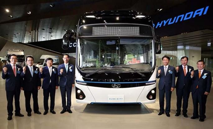 Presentación del Hyundai Elec City en Corea