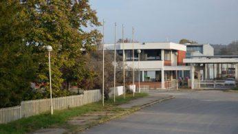 Outside Bujanovac camp I