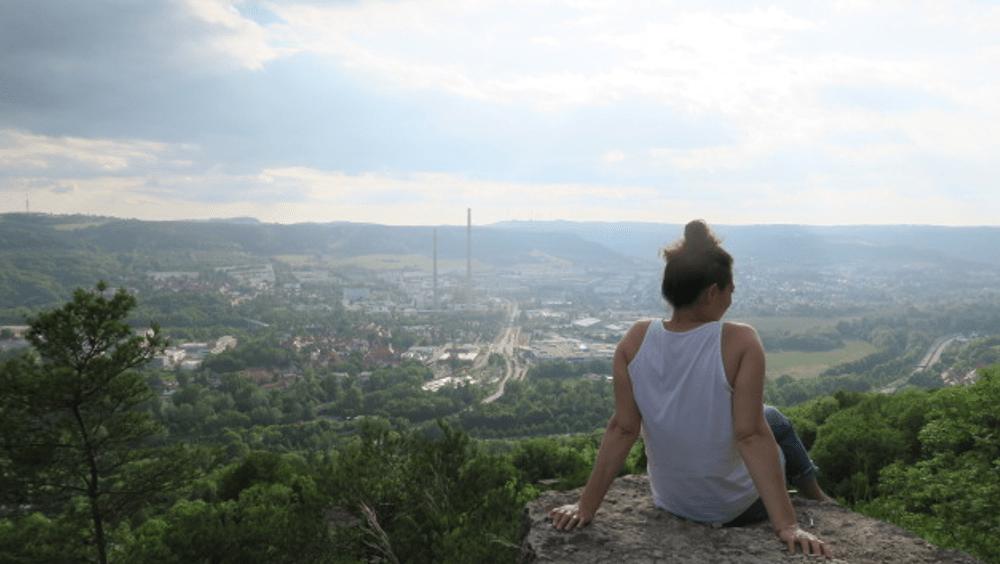 Blick über Jena