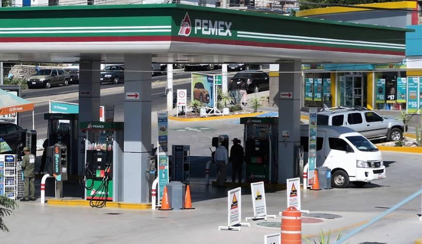 Pemex Tankstelle Mexiko