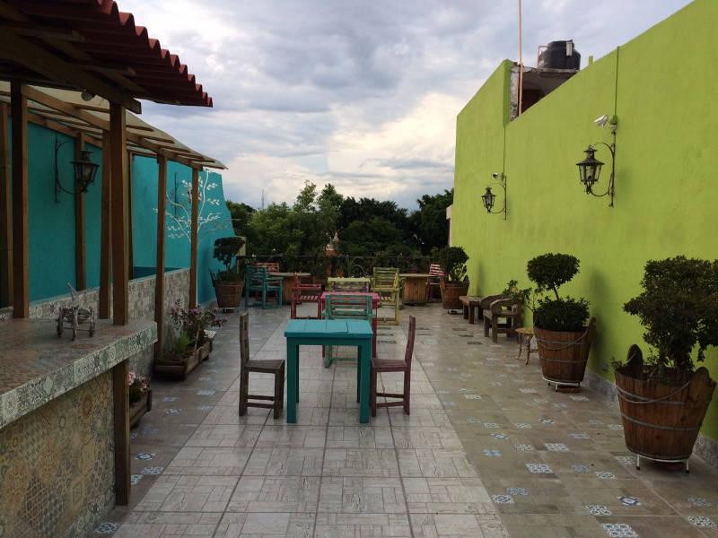 Terrasse Casone de las Flores Querétaro
