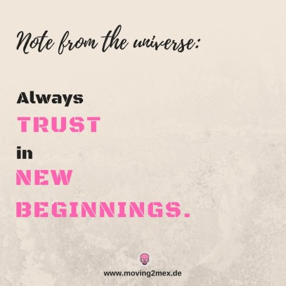 Always trust in new beginnings - Mein Fazit für 2017