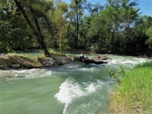 Fluss Jalpan - Jalpan de Serra in der Sierra Gorda