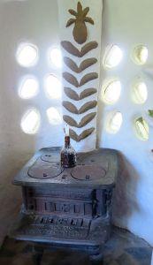 Ofen - Ofen im Lehmhaus Redonda