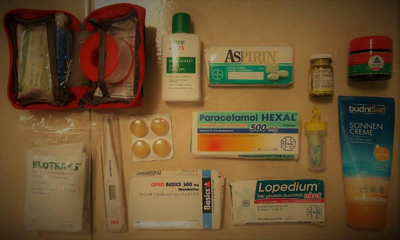 Packliste Apotheke - Backpacking Mexiko - Die ultimative Packliste