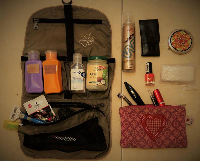Packliste Hygiene Mexikoreise