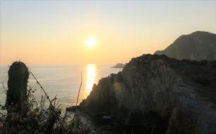 Sunset web - Playa Maruata - Der Hippie Strand Michoácans