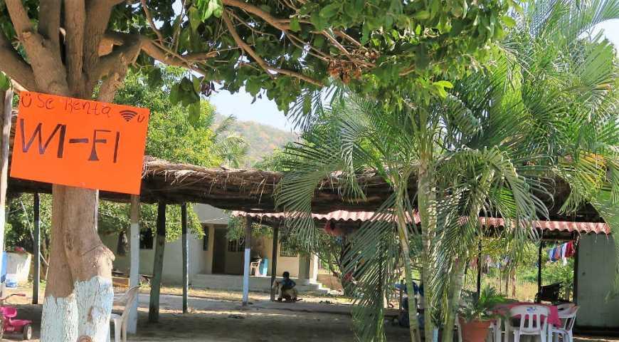 WiFi in Maruata