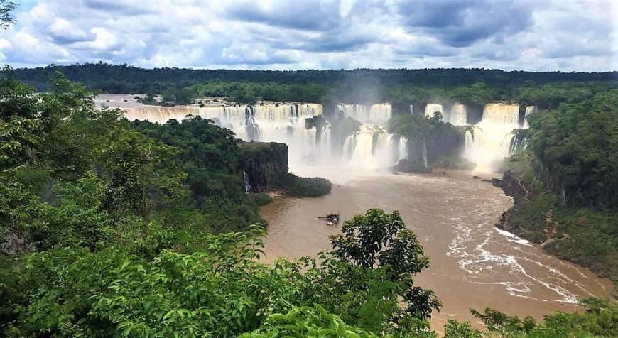 Wasserfälle von Iguazú, Brasilien