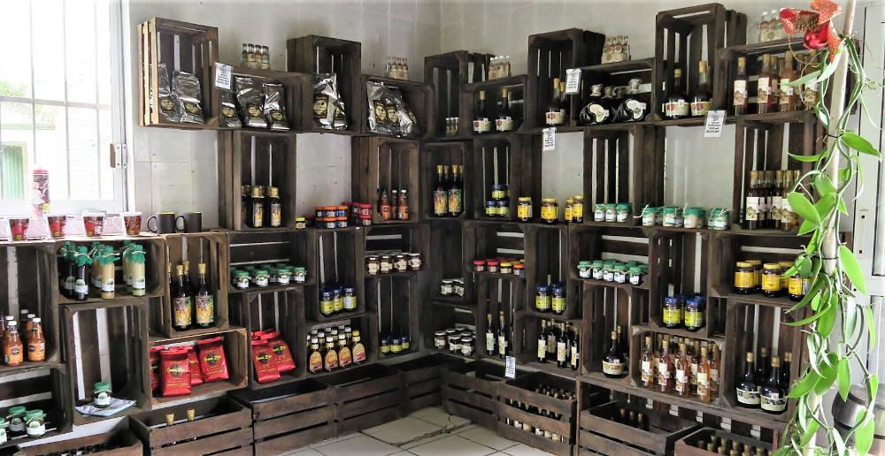 Shop des Vanilleproduzent und -exporteuer Gaya in Veracruz