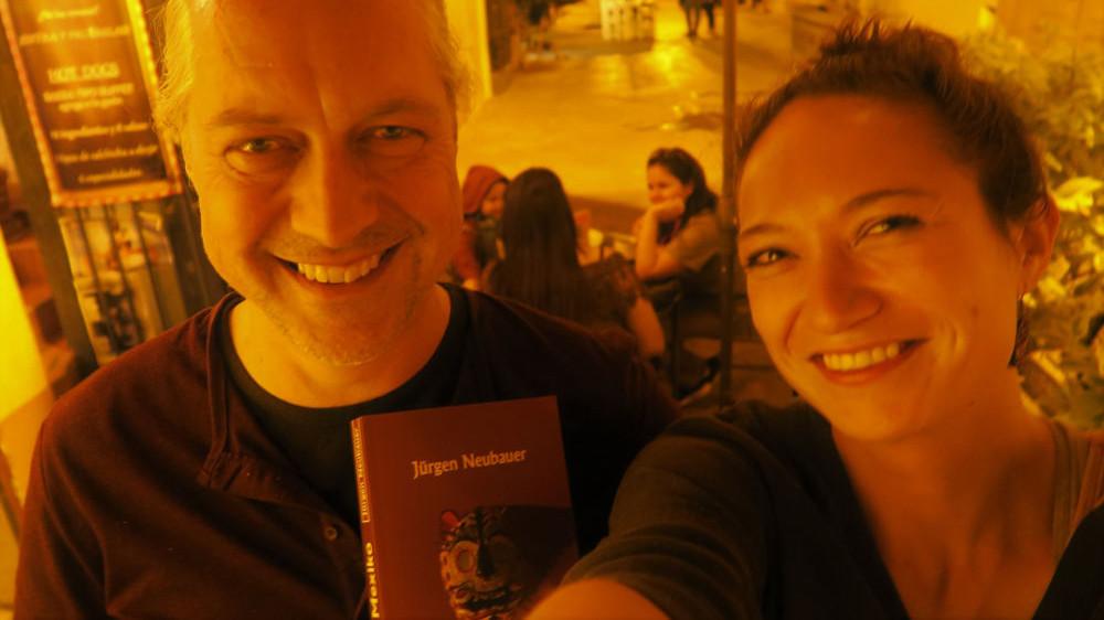 """Jürgen Neubauer und sein neues Buch """"In Mexiko"""""""
