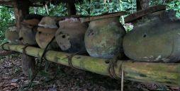 Bienenhäuschen im Stil der Totonaken