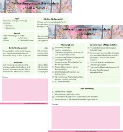 Checkliste zum Auswandern nach Mexiko