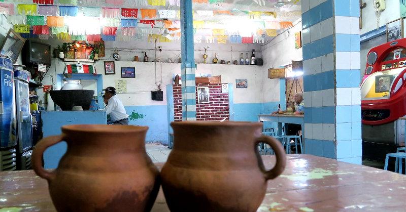 Pulqueria qro post - Pulque - Der Energy Drink der Azteken