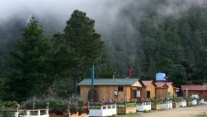 """Die Cabañas der """"Rancho viejo"""" bieten Ruhe, einen herrlichen Ausblick und einen Kamin für die kalten Nächte."""