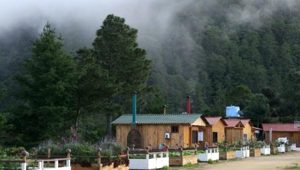 Cabanas2 blog - San José del Pacifico - Wolken und Magic Mushrooms