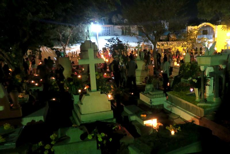 Friedhof viejo blog - Dia de los Muertos - Tag der Toten in Oaxaca