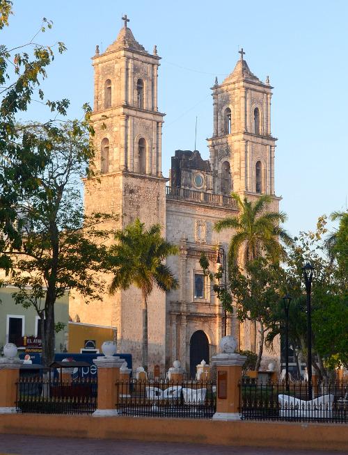 Die prächtige Kirche im Herzen Valladolids.