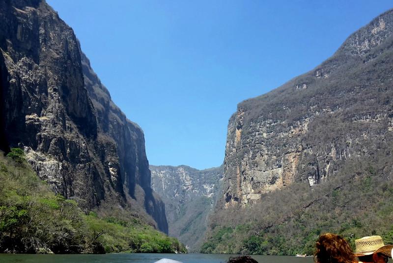Canon de Sumidero - Zwei Monate Mexiko - Backpacking Reiseroute