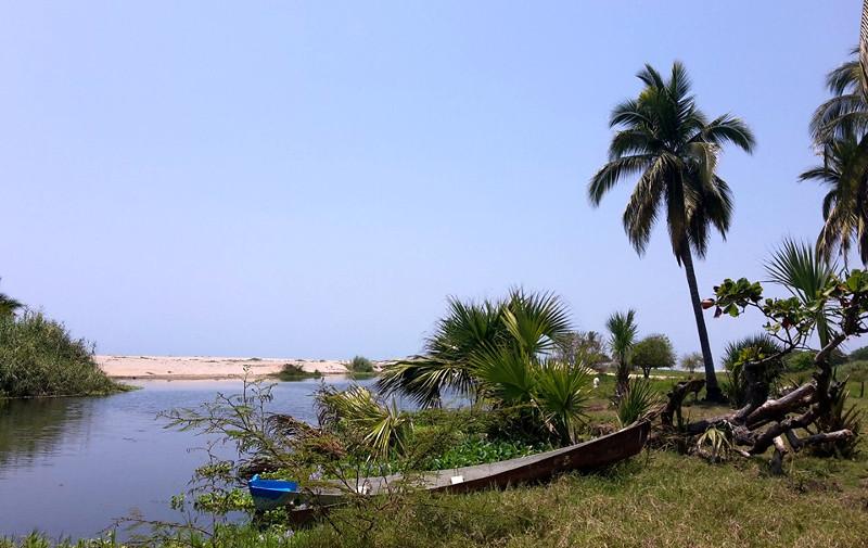 Laguna Manialtepec - Zwei Monate Mexiko - Meine Reiseroute