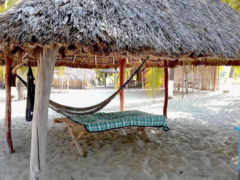 Laguna Manilatepec Hammock - Zwei Monate Mexiko - Backpacking Reiseroute