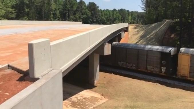 Photo of bridge on Campground Road over the railroad (Elton Alexander photo)
