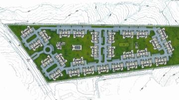 Mt Carmel Road apartments site plan