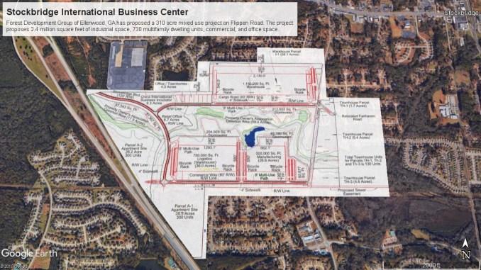Stockbridge International Business Center site plan