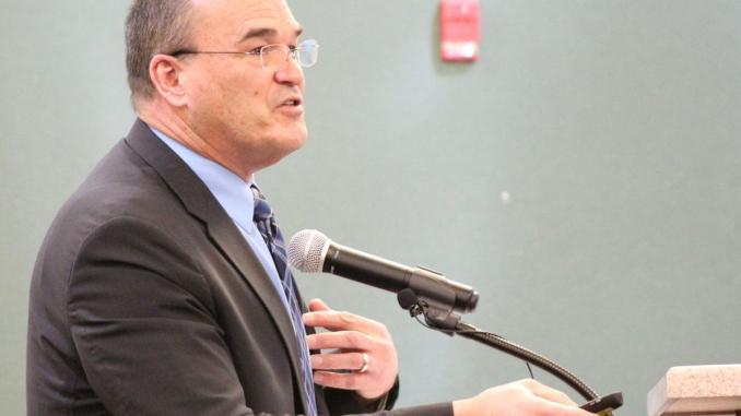 Photo of McDonough City Administrator Keith Dickerson (Henry Herald photo / Joe Adgie)