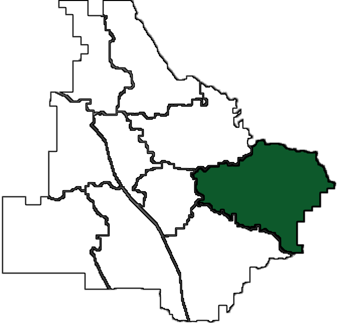 Ola community map (staff photo)