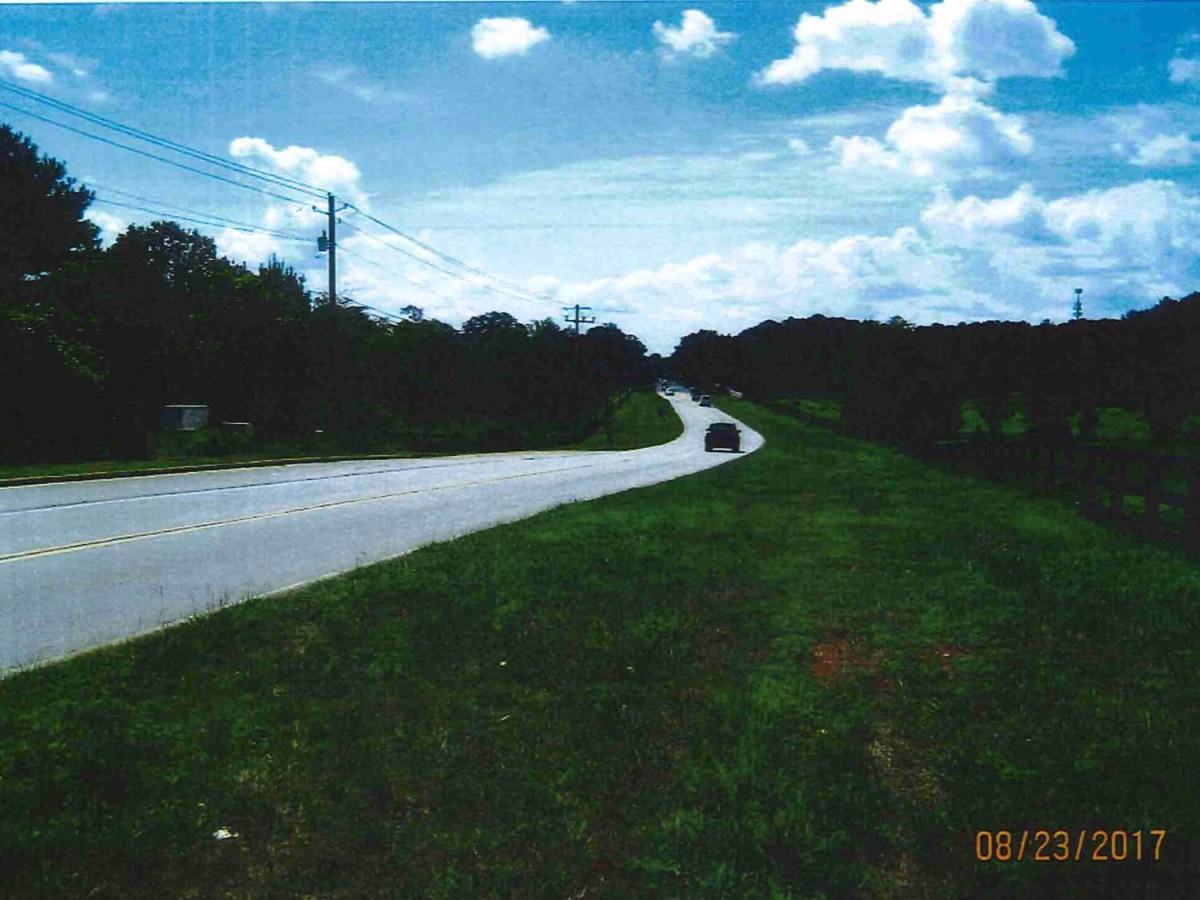 Photo along Jonesboro Road at McCullough Road in 2017 (Henry County photo)