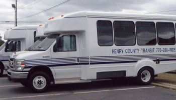 Photo of Henry County Transit bus (Henry Herald photo)