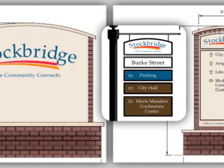 Photos of Stockbridge wayfinding signage (Stockbridge photos)
