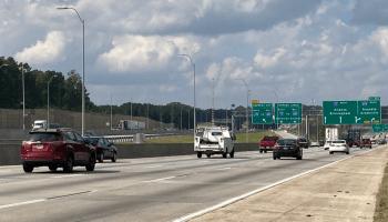 Photo of I-75 North at I-675 (Georgia DOT photo)