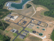 Aerial photo of Walnut Creek Wastewater Treatment Plant (HCWA photo)