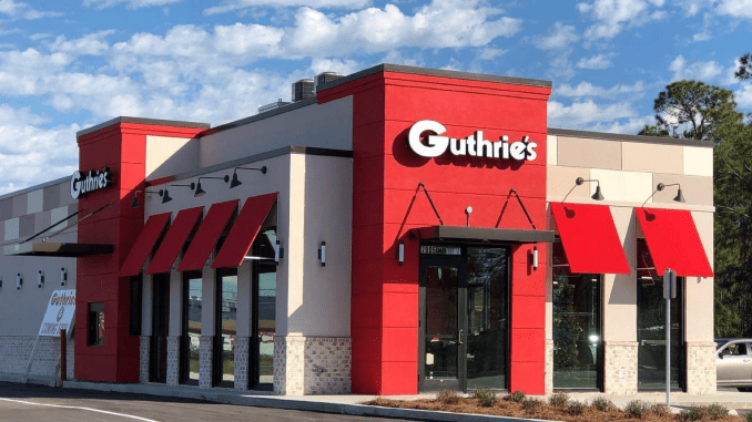 Photo of Guthrie's Chicken exterior (company photo)