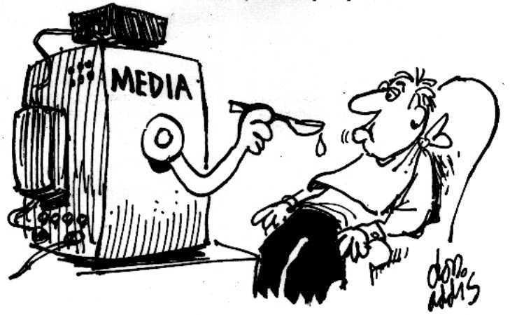 Media illiteracy creates this!