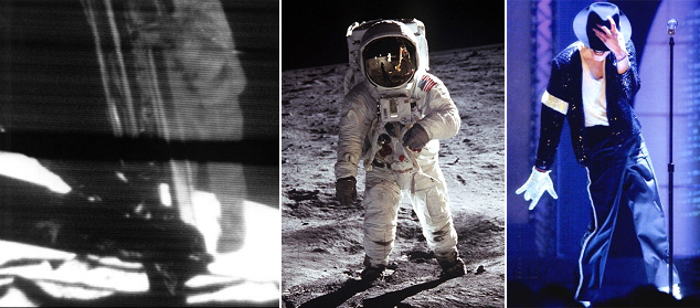 While Apollo astronauts conquered the Moon, Michael Jackson took over the Earth...