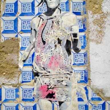 Streetart in Lissabon