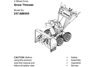 Where to Find Snowblower Manuals 1